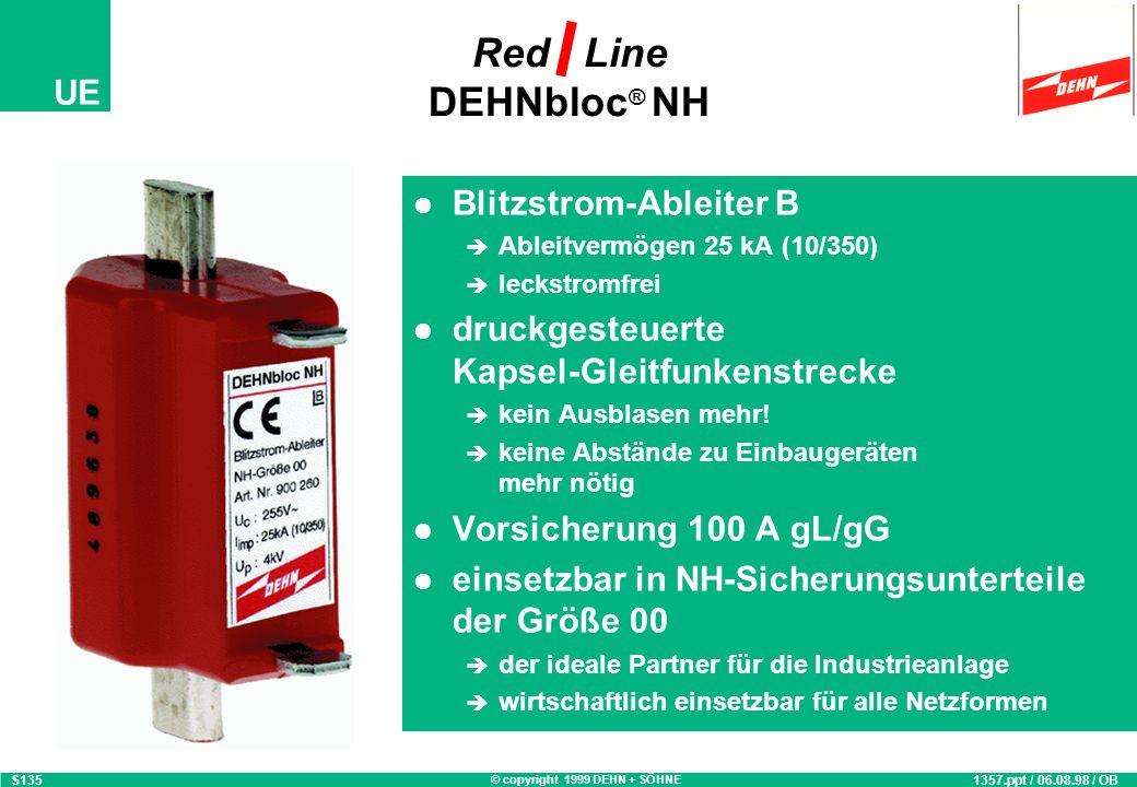 Red Line DEHNbloc® NH Blitzstrom-Ableiter B