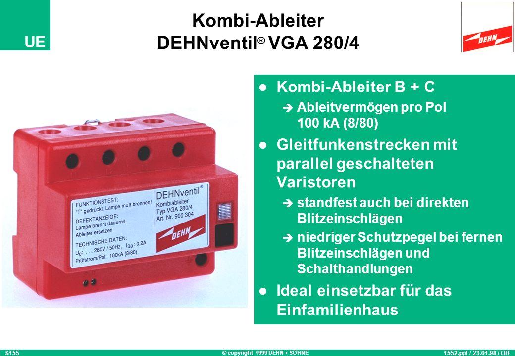 Kombi-Ableiter DEHNventil® VGA 280/4