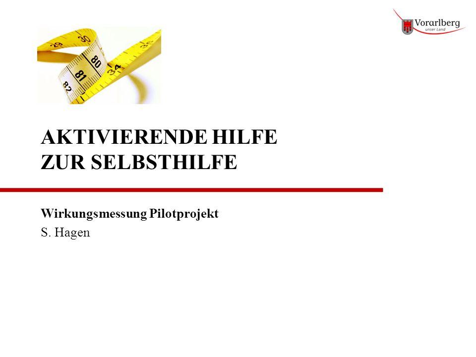 AKTIVIERENDE HILFE ZUR SELBSTHILFE