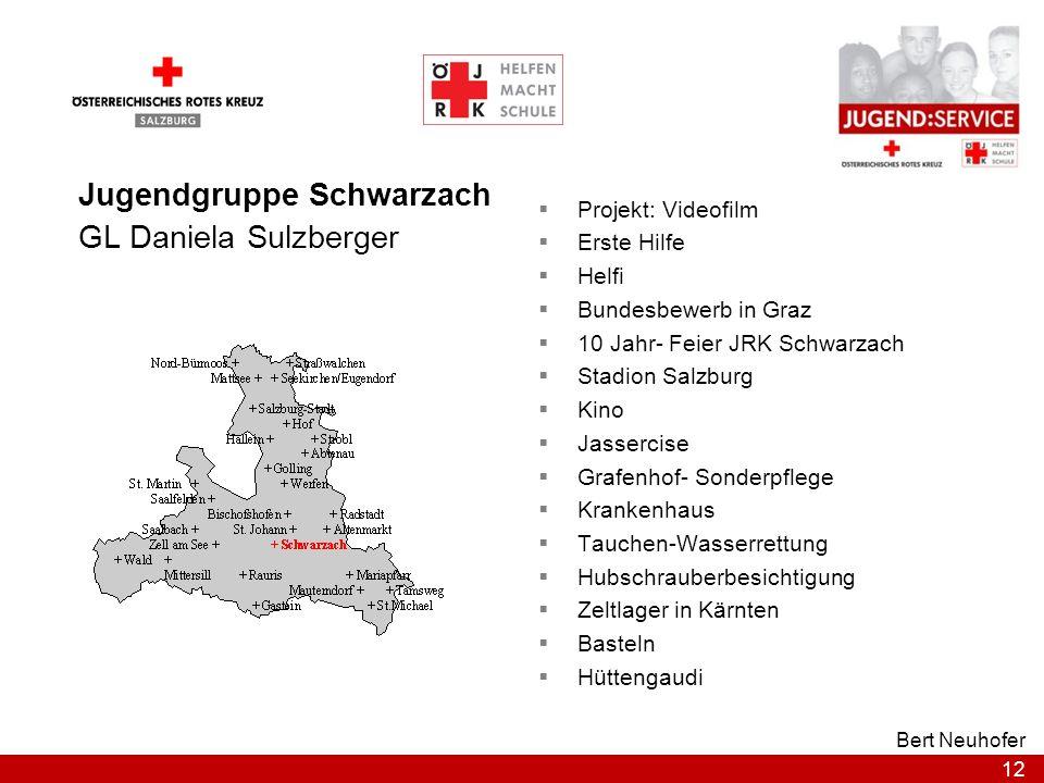Jugendgruppe Schwarzach GL Daniela Sulzberger