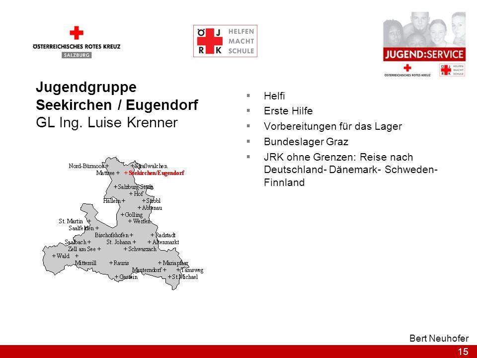 Seekirchen / Eugendorf GL Ing. Luise Krenner