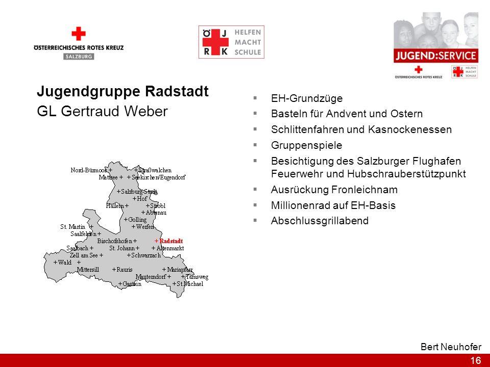 Jugendgruppe Radstadt GL Gertraud Weber