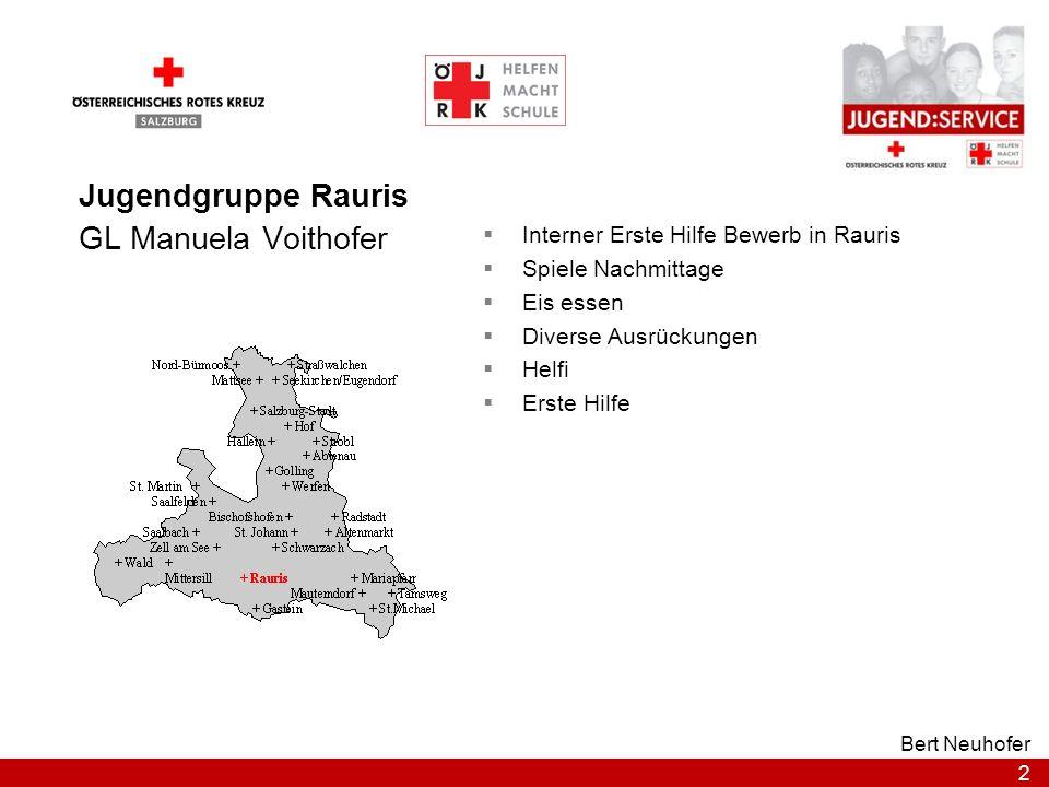 Jugendgruppe Rauris GL Manuela Voithofer