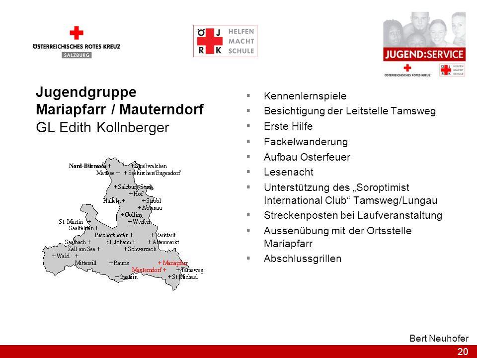 Mariapfarr / Mauterndorf GL Edith Kollnberger