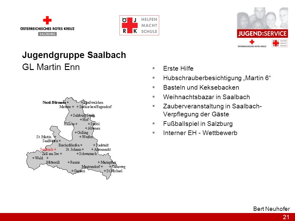 Jugendgruppe Saalbach GL Martin Enn