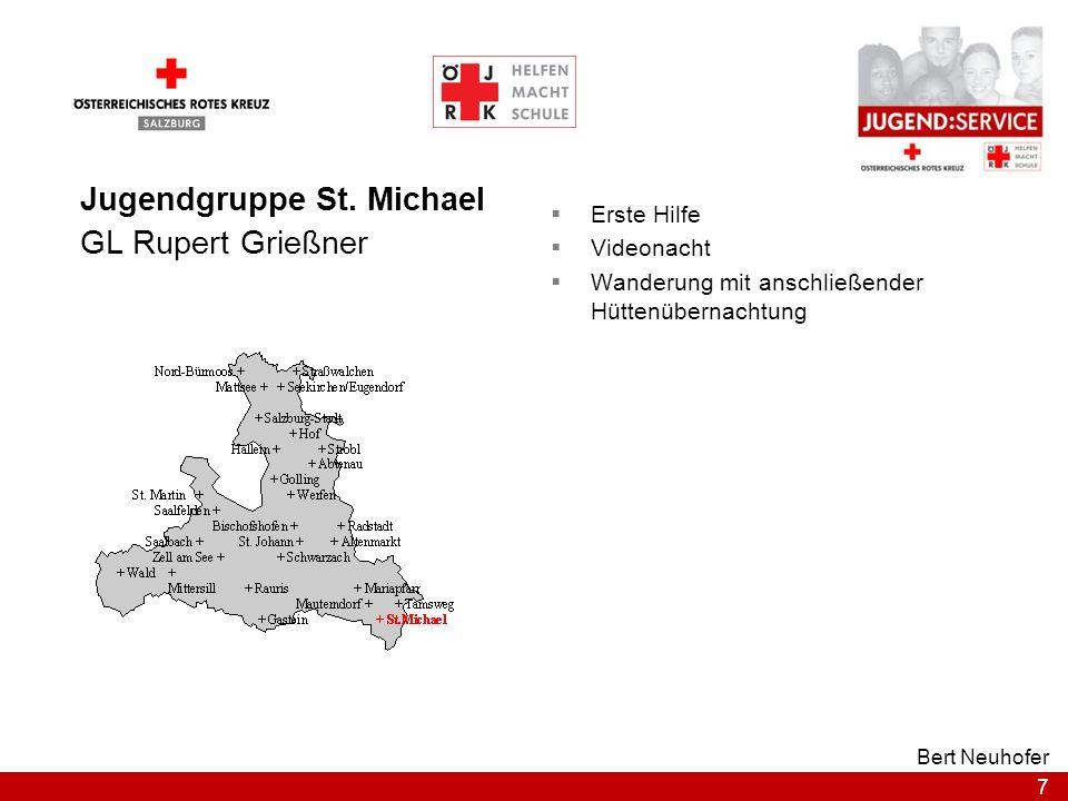 Jugendgruppe St. Michael GL Rupert Grießner