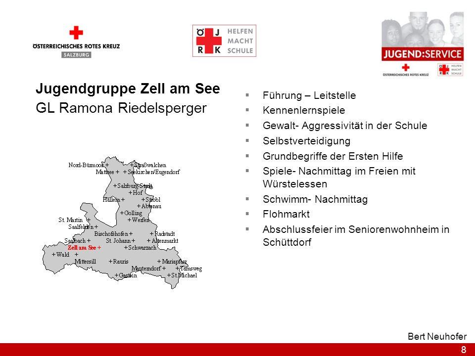 Jugendgruppe Zell am See GL Ramona Riedelsperger