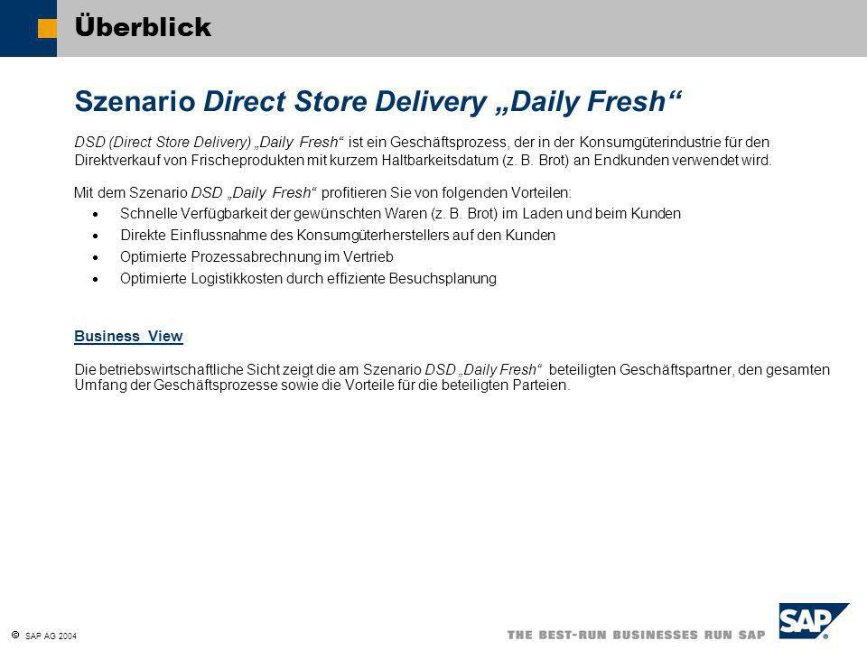 "Szenario Direct Store Delivery ""Daily Fresh"