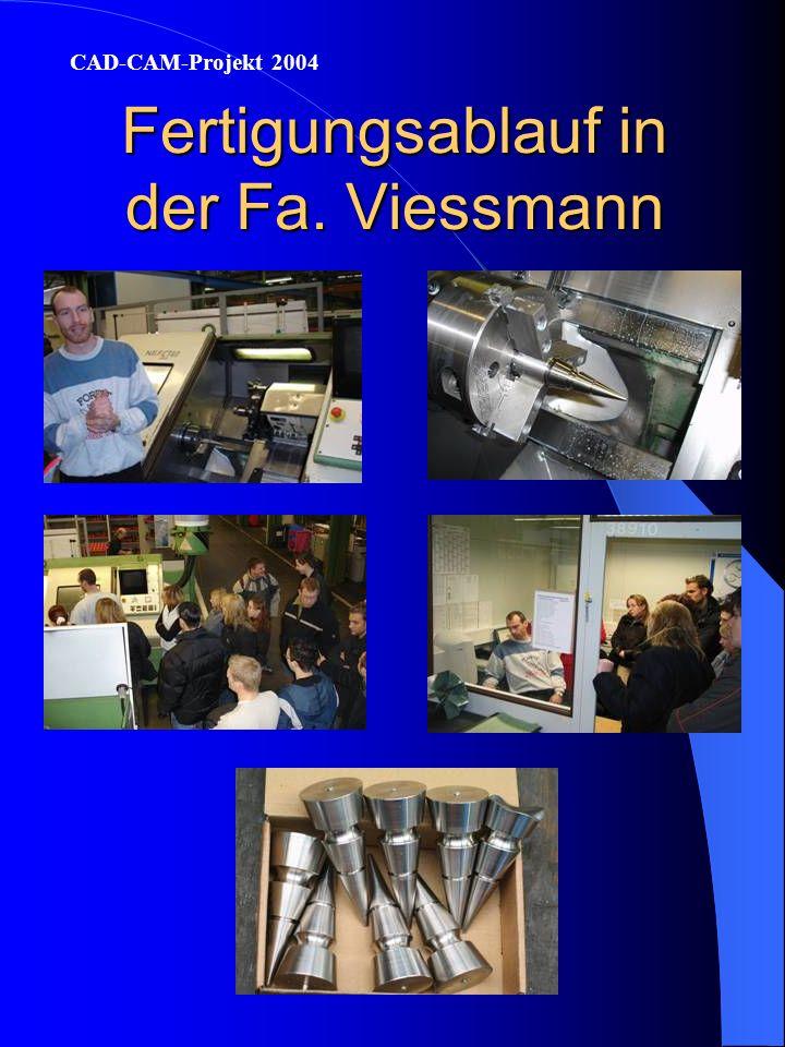 Fertigungsablauf in der Fa. Viessmann