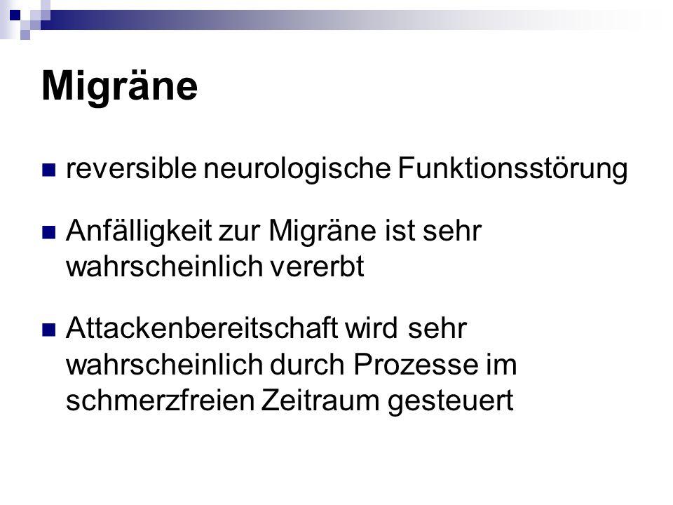 Migräne reversible neurologische Funktionsstörung
