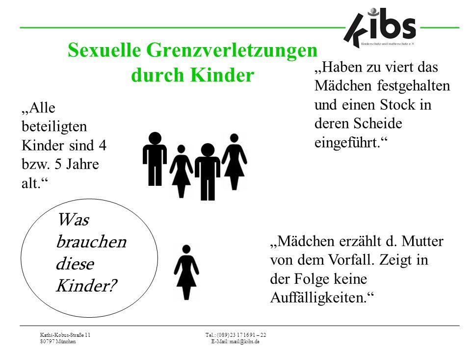 Sexuelle Grenzverletzungen durch Kinder