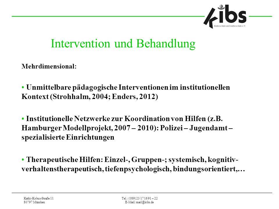 Intervention und Behandlung