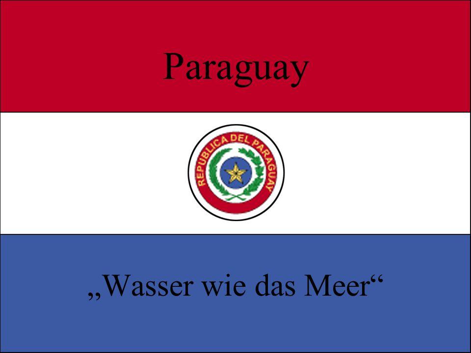 """Paraguay """"Wasser wie das Meer"""