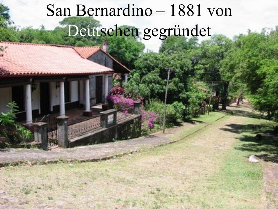 San Bernardino – 1881 von Deutschen gegründet