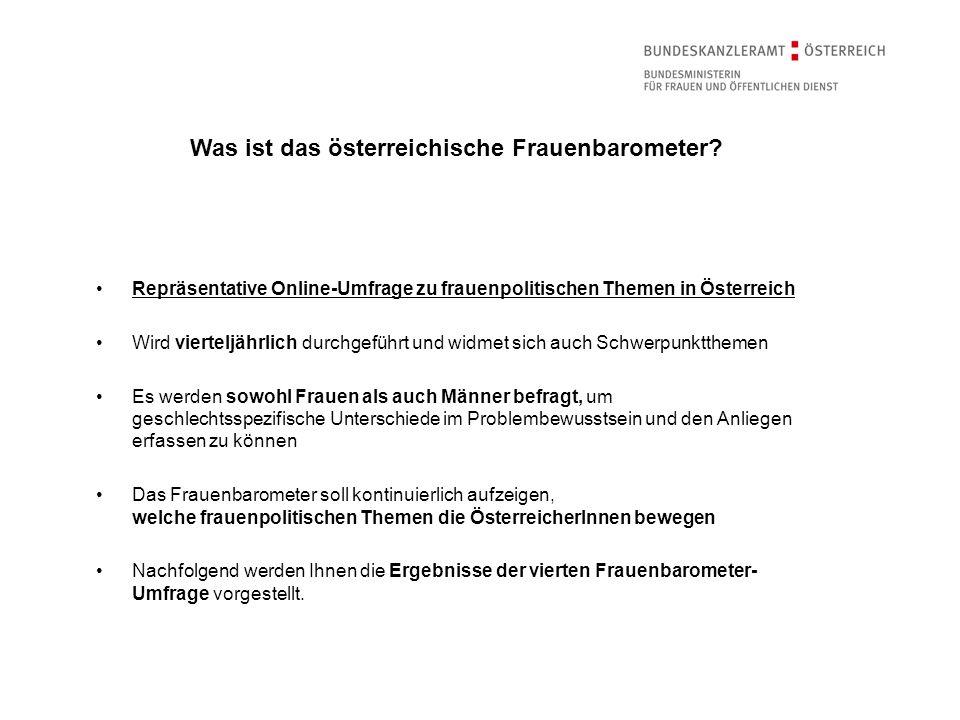 Was ist das österreichische Frauenbarometer