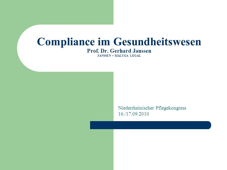 Niederrheinischer Pflegekongress 16./17.09.2010