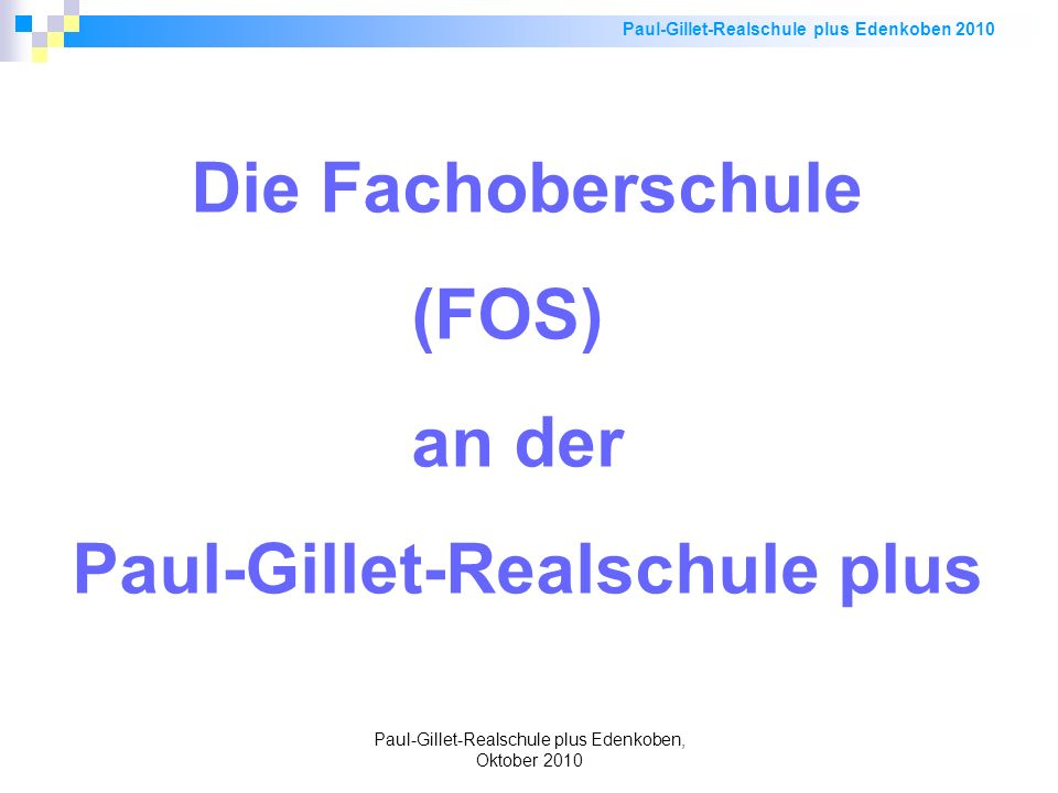 Paul-Gillet-Realschule plus