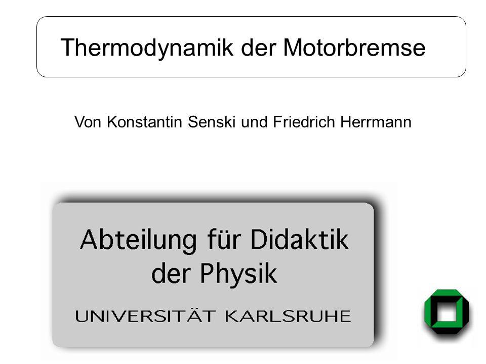 Thermodynamik der Motorbremse