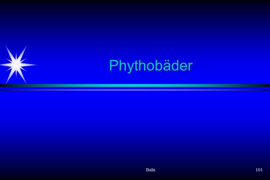 Phythobäder Baln