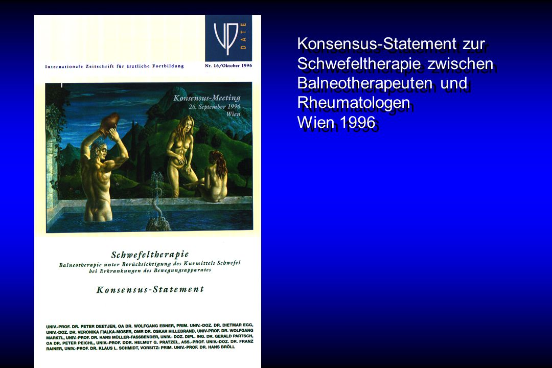 Konsensus-Statement zur