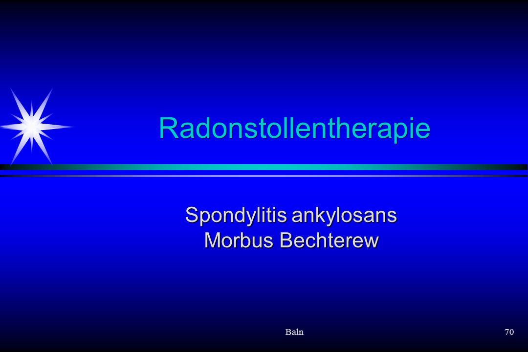 Radonstollentherapie