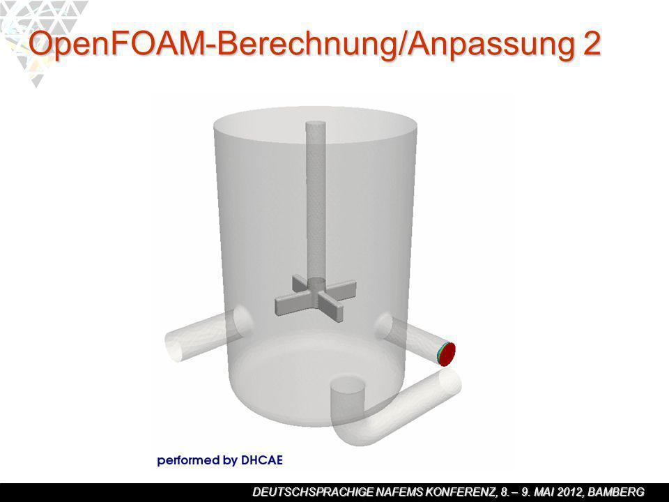 OpenFOAM-Berechnung/Anpassung 2