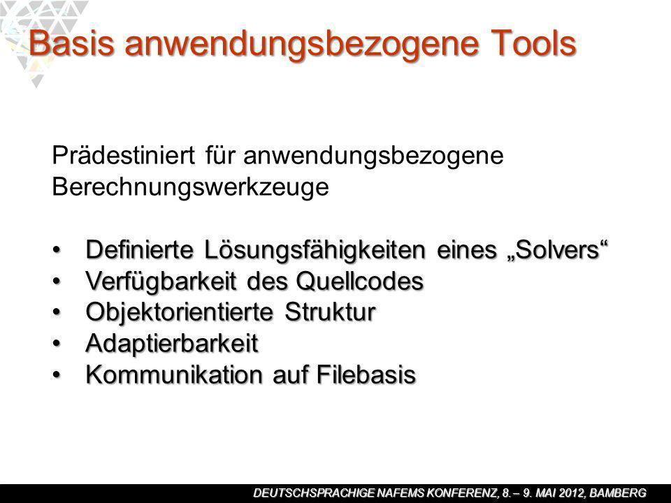 Basis anwendungsbezogene Tools