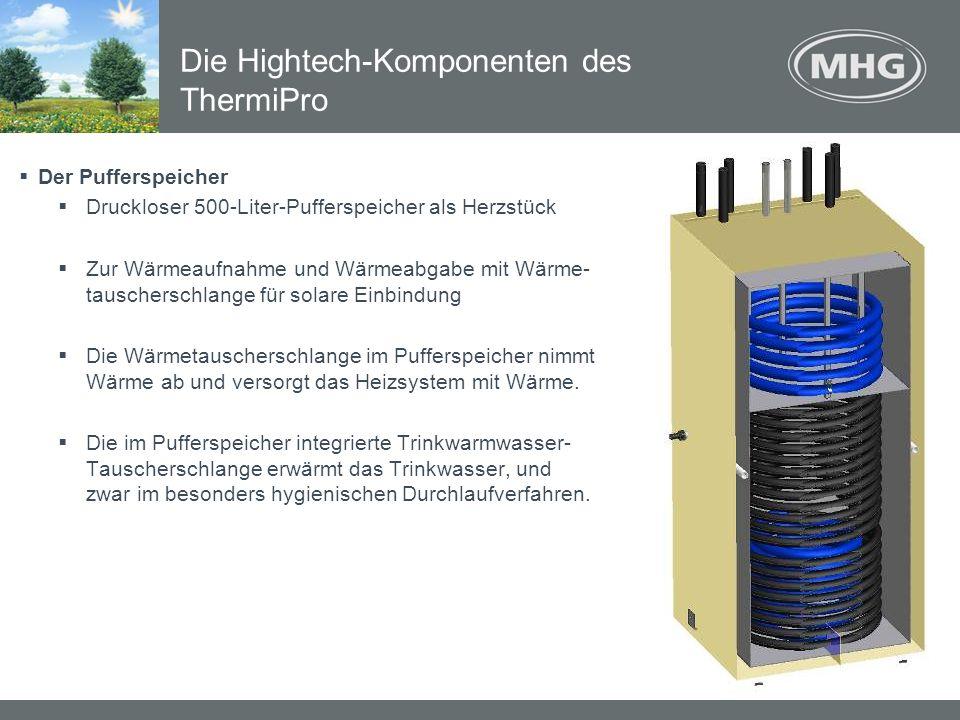Die Hightech-Komponenten des ThermiPro