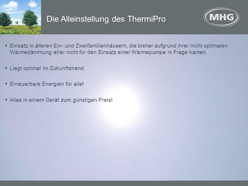 Die Alleinstellung des ThermiPro