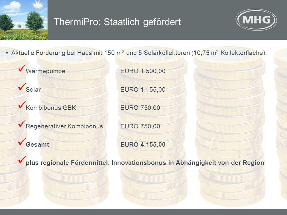 ThermiPro: Staatlich gefördert