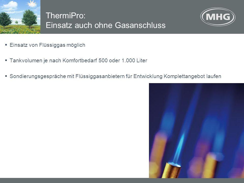 ThermiPro: Einsatz auch ohne Gasanschluss