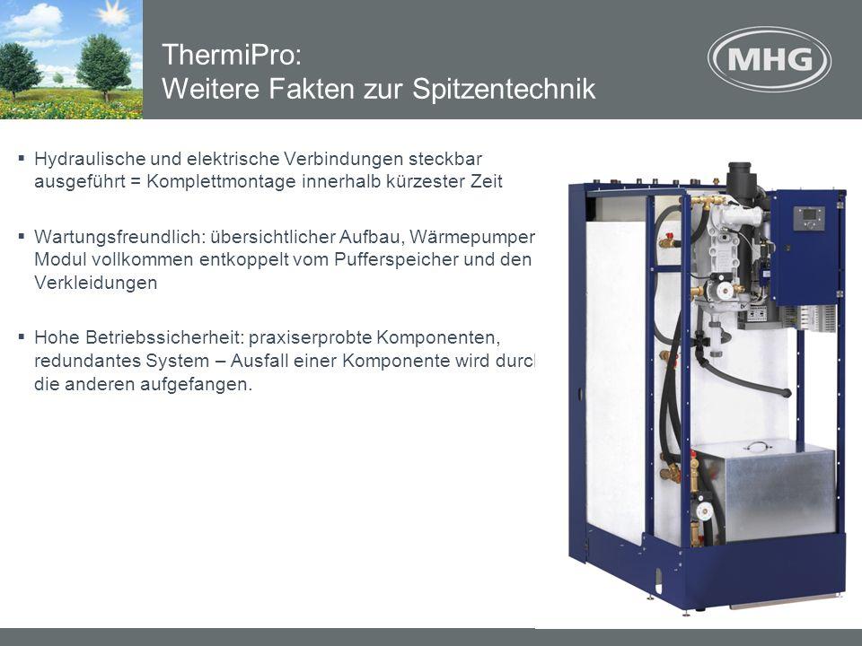 ThermiPro: Weitere Fakten zur Spitzentechnik