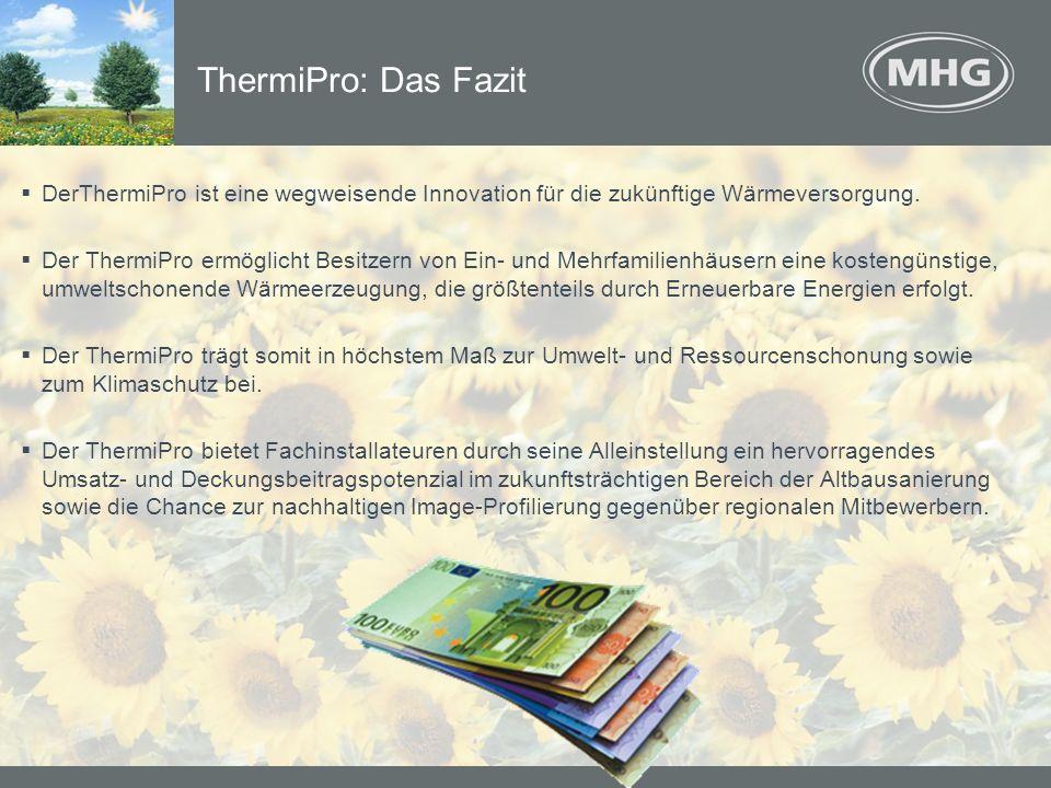 ThermiPro: Das Fazit DerThermiPro ist eine wegweisende Innovation für die zukünftige Wärmeversorgung.