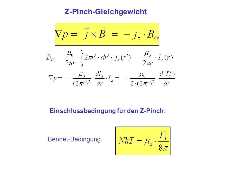 Z-Pinch-Gleichgewicht