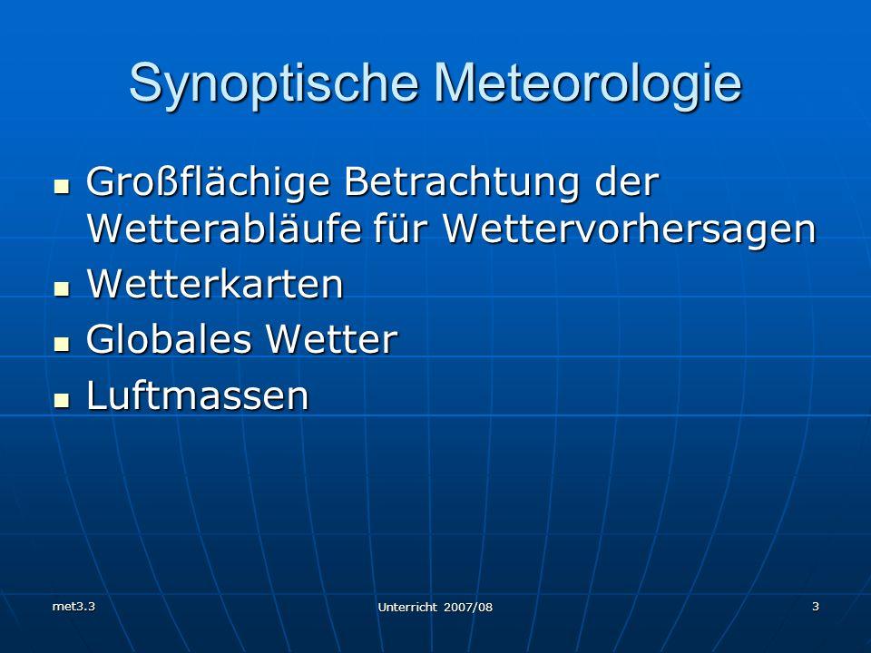 Synoptische Meteorologie