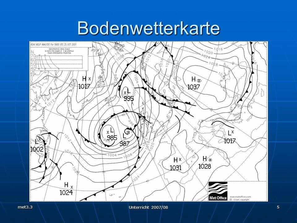 Bodenwetterkarte