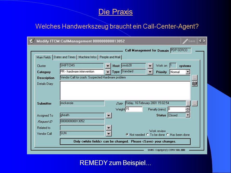 Welches Handwerkszeug braucht ein Call-Center-Agent