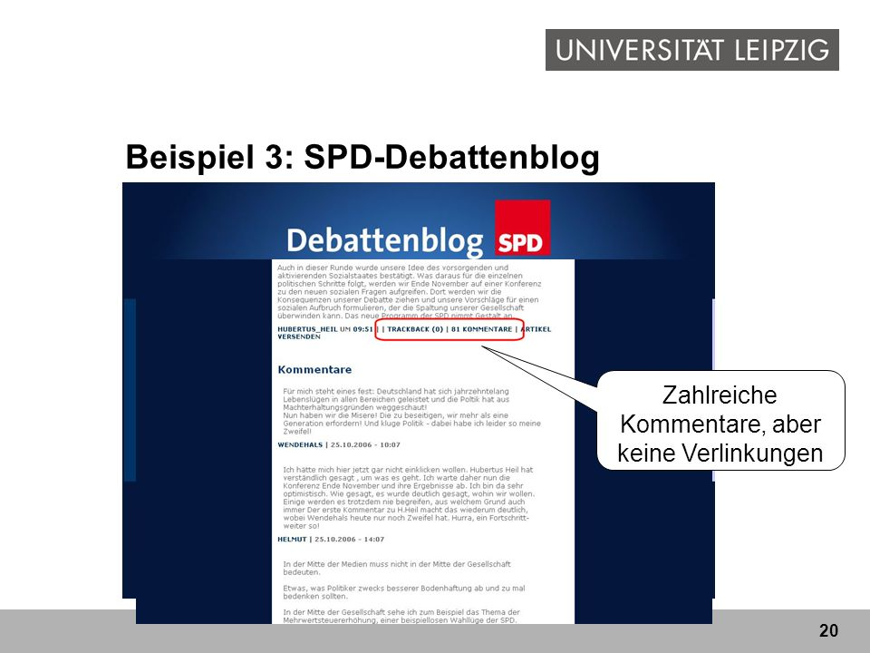 Beispiel 3: SPD-Debattenblog