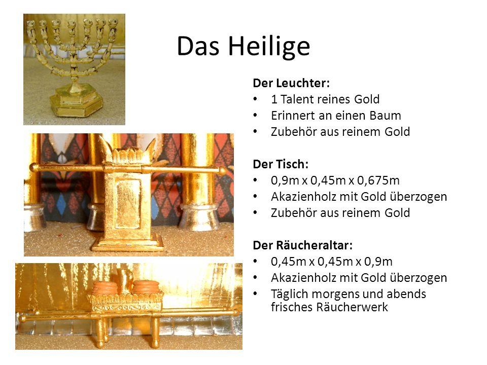 Das Heilige Der Leuchter: 1 Talent reines Gold Erinnert an einen Baum