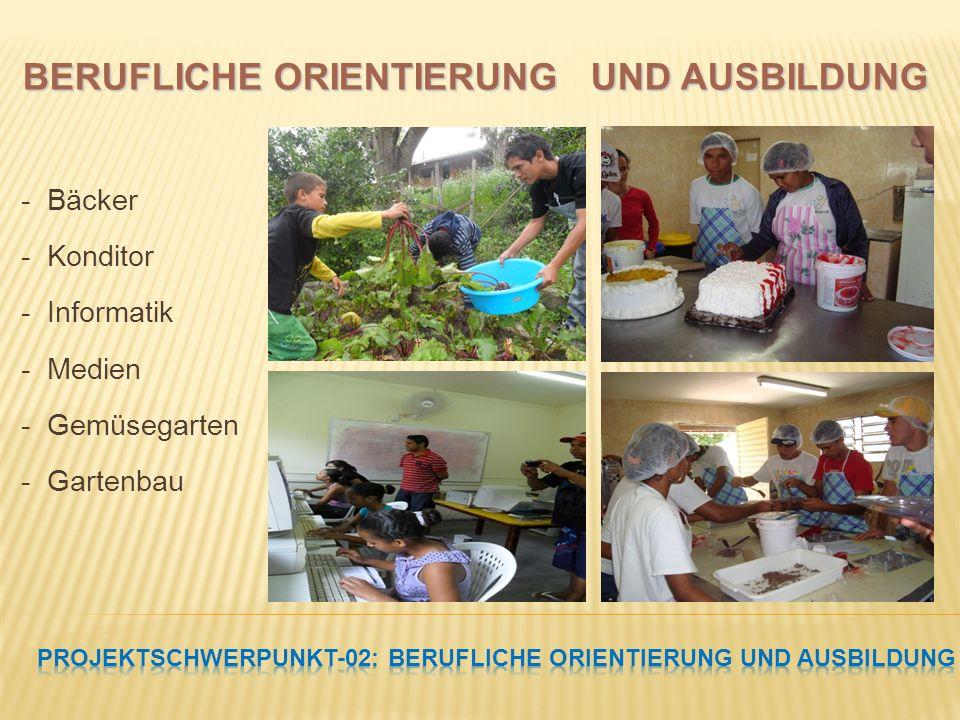 PROJEKTSCHWERPUNKT-02: Berufliche Orientierung und Ausbildung