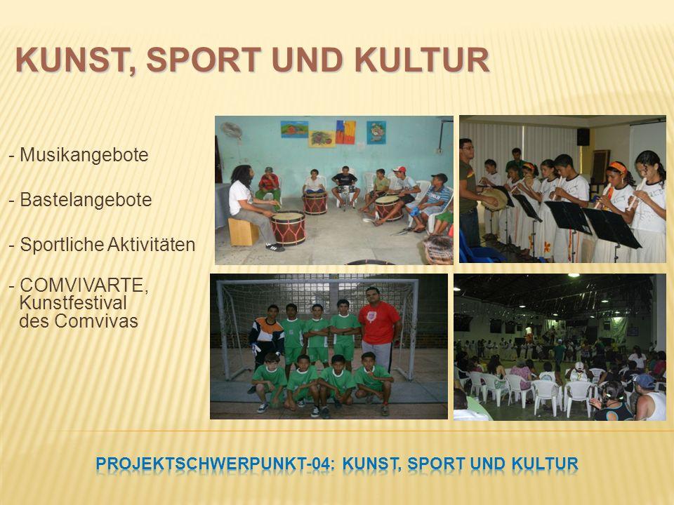 PROJEKTSCHWERPUNKT-04: Kunst, Sport und Kultur