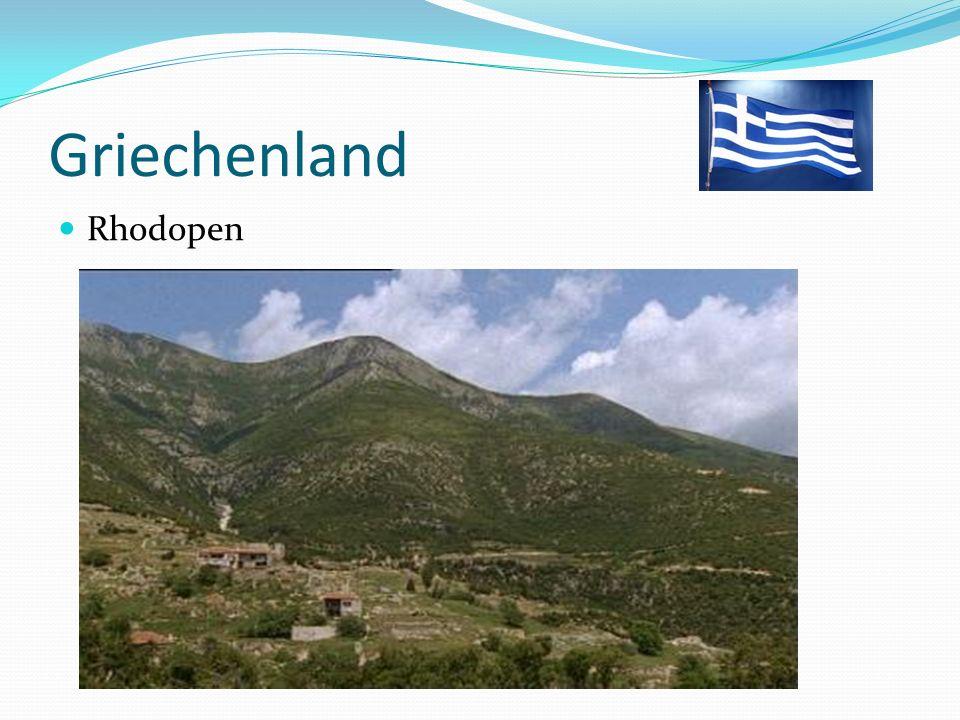 Griechenland Rhodopen
