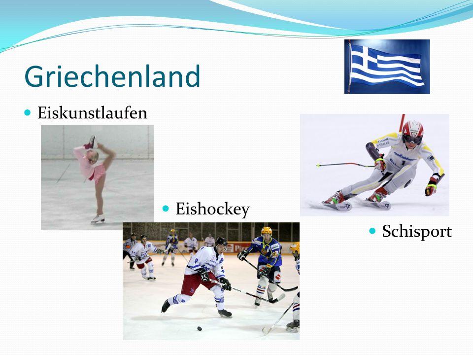 Griechenland Eiskunstlaufen Eishockey Schisport