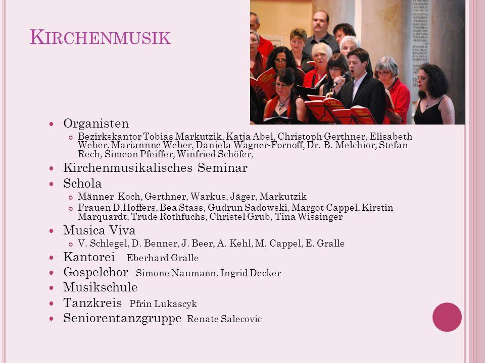Kirchenmusik Organisten Kirchenmusikalisches Seminar Schola