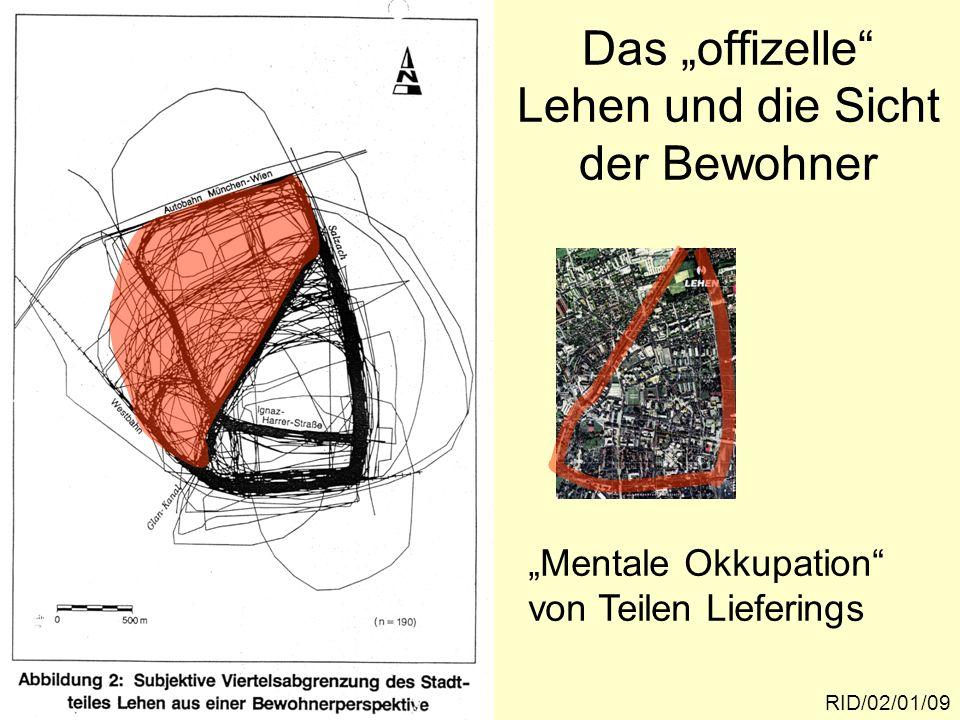 """Das """"offizelle Lehen und die Sicht der Bewohner"""