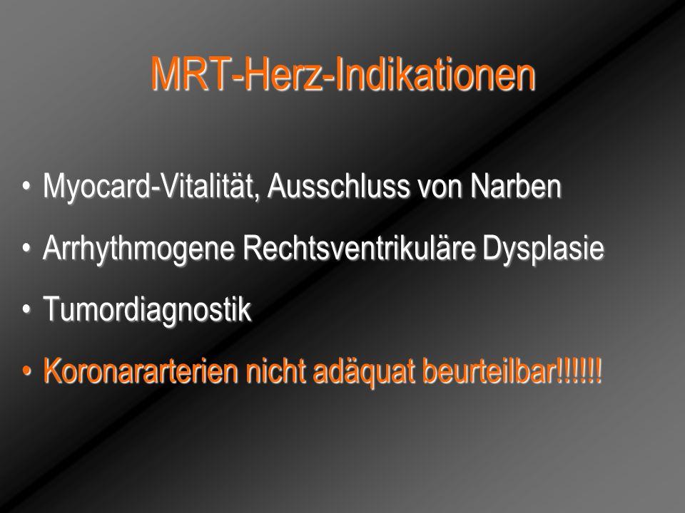 MRT-Herz-Indikationen