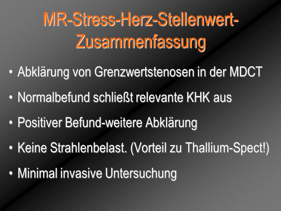 MR-Stress-Herz-Stellenwert-Zusammenfassung