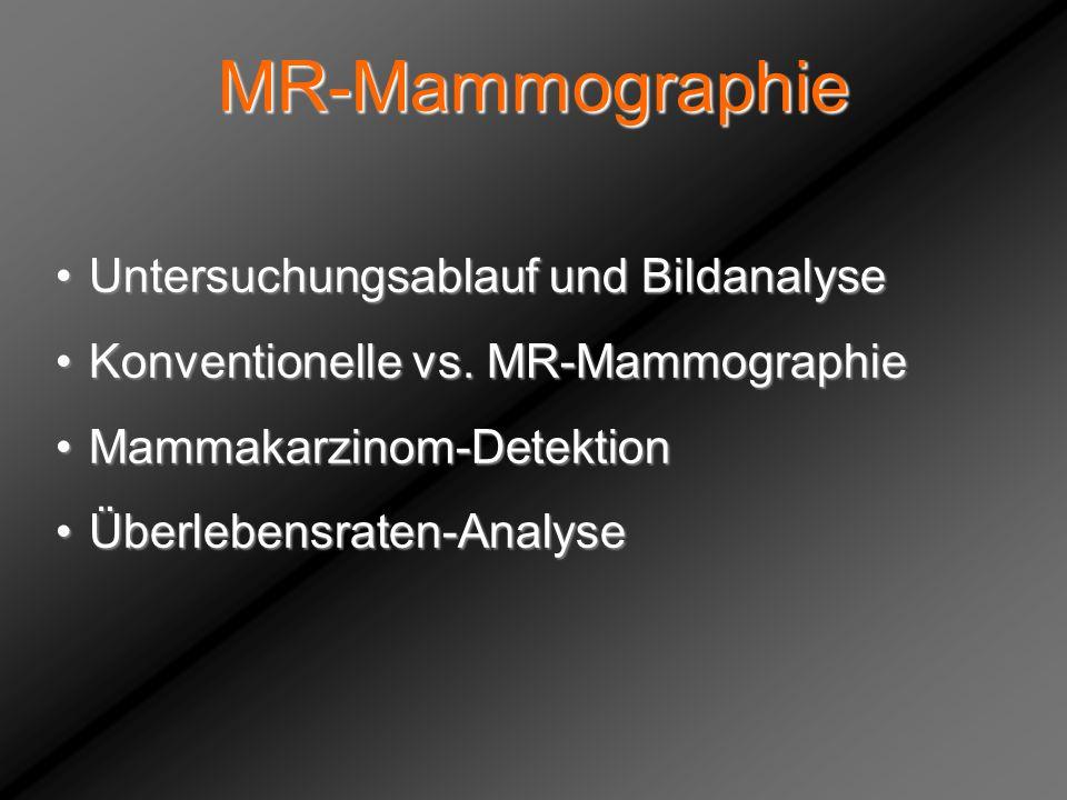 MR-Mammographie Untersuchungsablauf und Bildanalyse