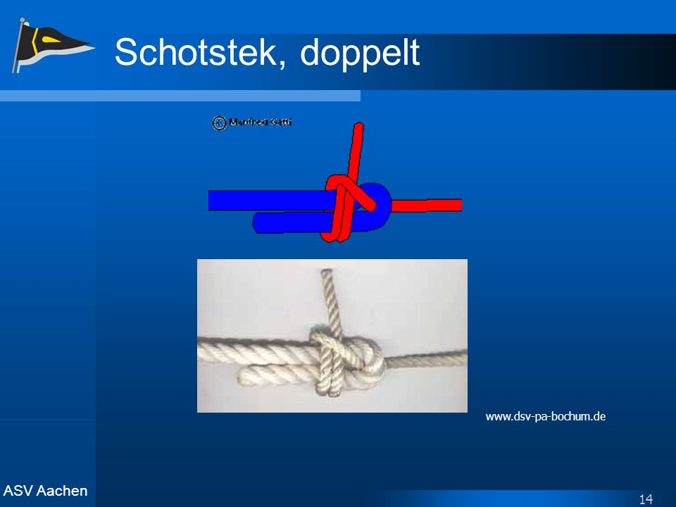 Schotstek, doppelt www.dsv-pa-bochum.de