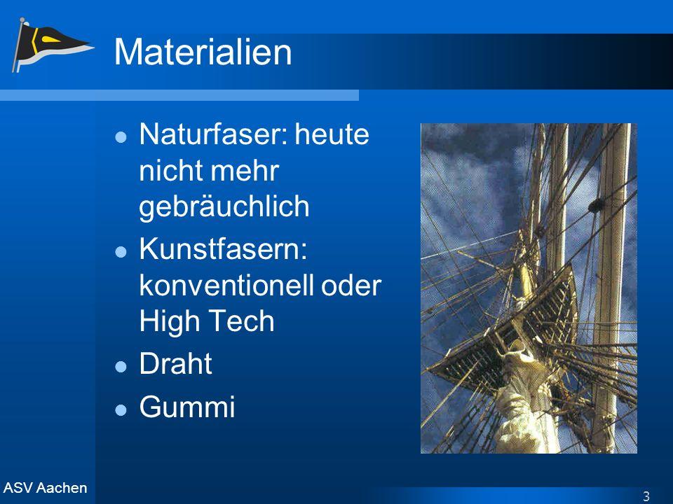 Materialien Naturfaser: heute nicht mehr gebräuchlich
